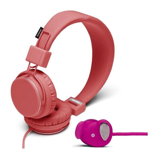 Słuchawki Plattan Coral + słuchawki Medis Raspberry GRATIS