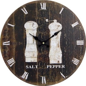 Zegar Salt and Pepper, 34 cm