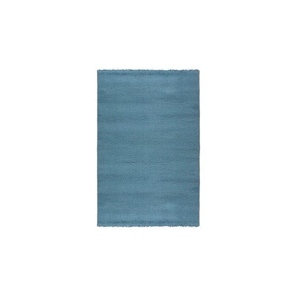 Dywan wełniany Pradera, 120x160 cm, niebieski