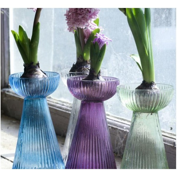 Wazon Hyacinth, turkusowy
