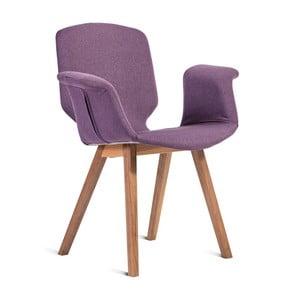 Fioletowe krzesło Charlie Pommier Tea