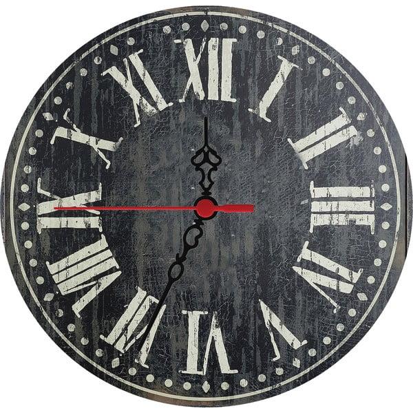 Zegar ścienny Dark Times, 30 cm