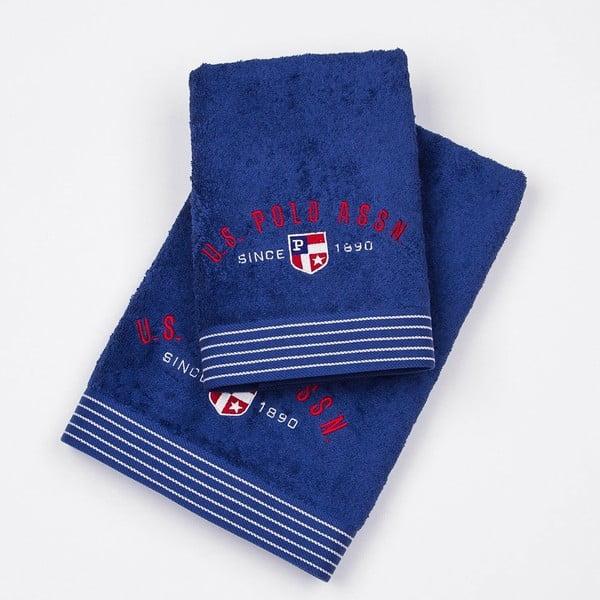 Komplet 2 ręczników US Polo, 50x100 i 70x140 cm