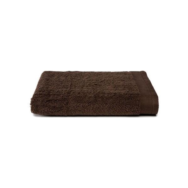 Brązowy ręcznik Ekkelboom, 50x100 cm