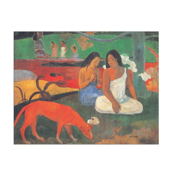 Obraz Paul Gauguin - Arearea, 40x31 cm