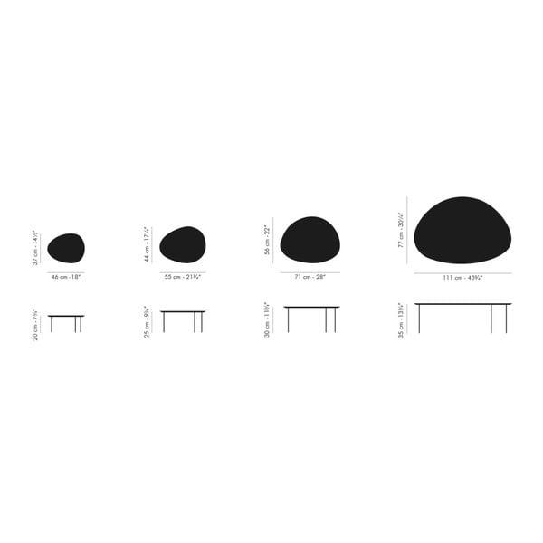 Stolik Eclipse Large, biały