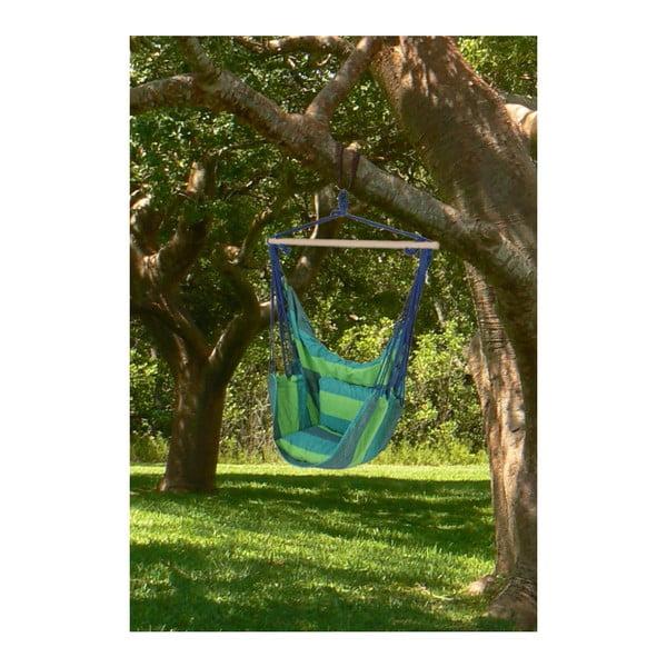 Zielony podwieszany fotel ogrodowy ADDU Tobago
