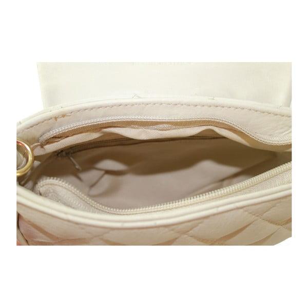 Szara skórzana torebka Serena