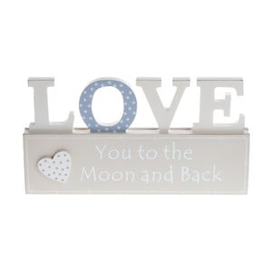 Drewniana dekoracja Love Heart