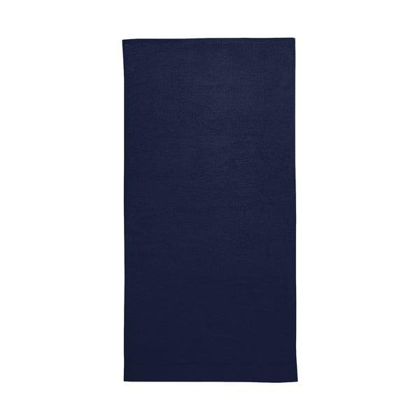 Ciemnoniebieski ręcznik Seahorse Pure, 70x140cm
