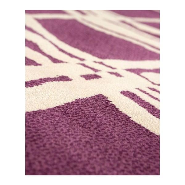 Dywan wełniany Tatoo 105 Lila, 120x160 cm