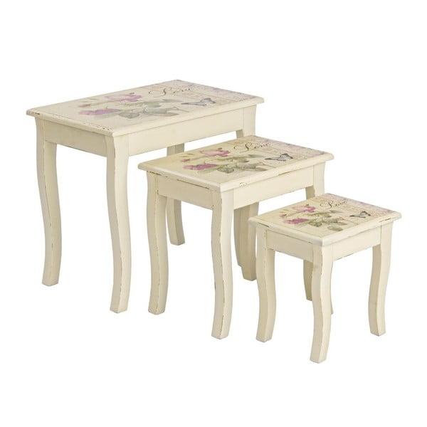Komplet 3 stolików Madame