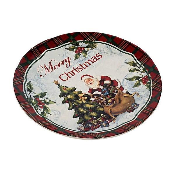Talerz ceramiczny Merry Xmas, 25 cm