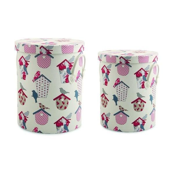 Zestaw 2 pudełek z przykrywką Ucelli