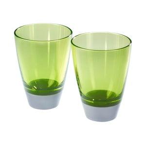 Zestaw 2 szklanek Entity Green