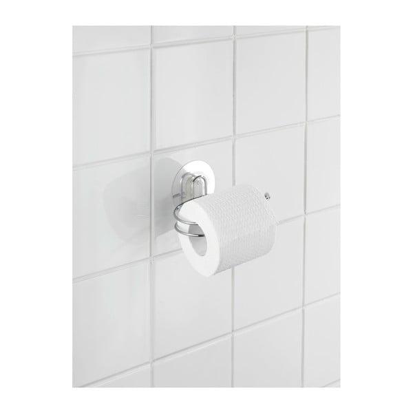 Uchwyt na papier toaletowy z przyssawką Wenko Static-Loc