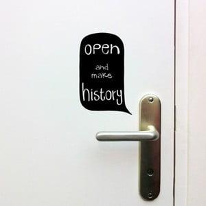 Komplet naklejek Open Door Sign