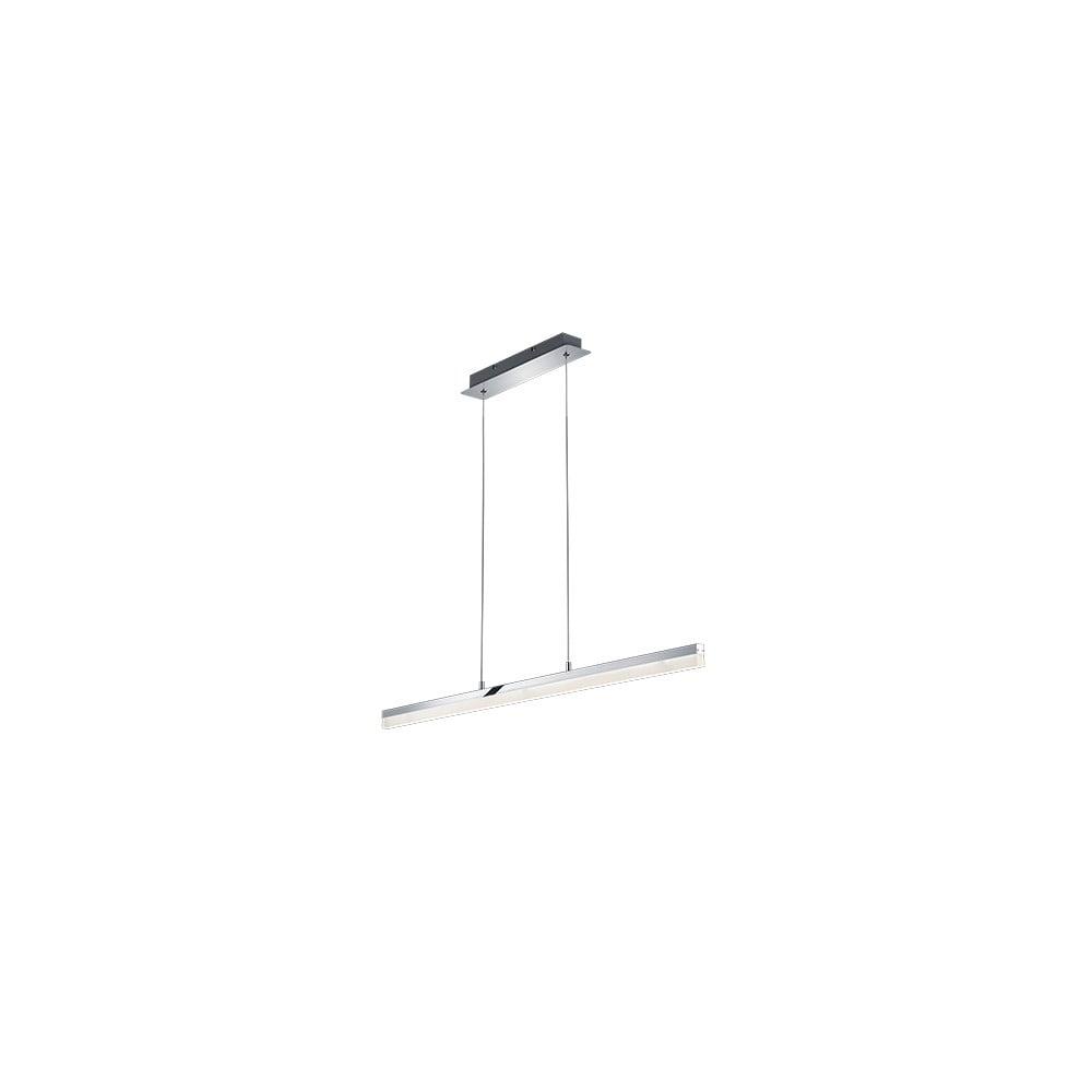 Lampa wisząca LED Trio Sandro, dł. 1,15 m