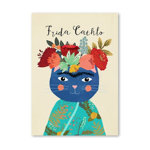 Plakat (projekt: Mia Charro) - Frida Catlho