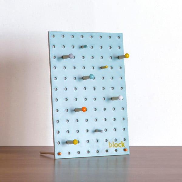 Wielofunkcyjna tablica Pegboard 30x20 cm, niebieska