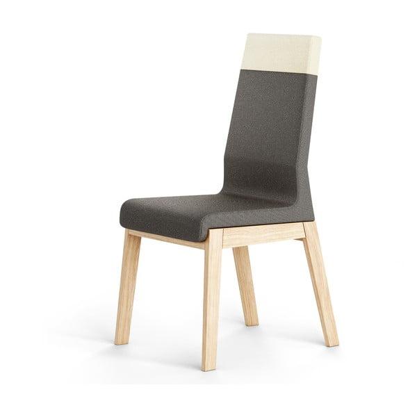 Czarne krzesło dębowe Absynth Kyla Two