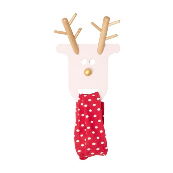 Wieszak O Deer Powdery Pink