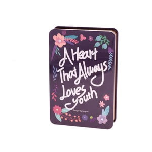Notes Languo Love, ciemnoniebieski
