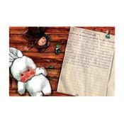 """Plakat autorski Toy Box """"Winnetou podnosi srebrny muszkiet i wzywa do boju"""", 60x92 cm"""