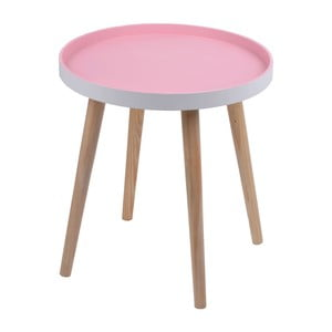 Różowy stolik Ewax Simple Table, 48 cm