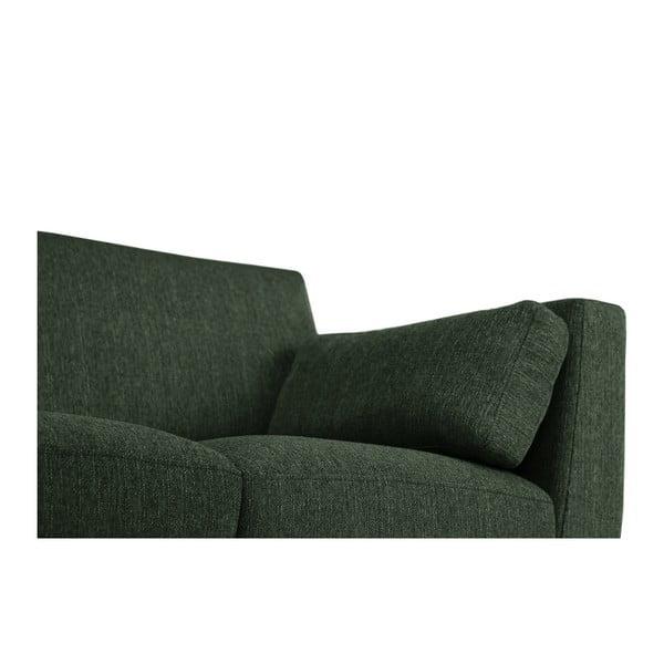 Ciemnozielony fotel Jalouse Maison Elisa