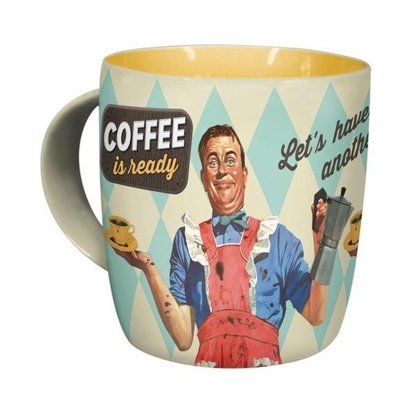 Kubek ceramiczny Coffee is Ready, 330 ml