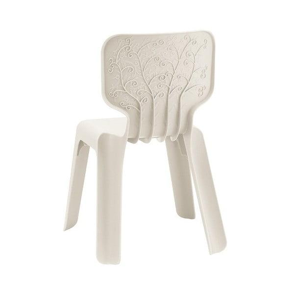 Białe krzesło dziecięce Magis Alma