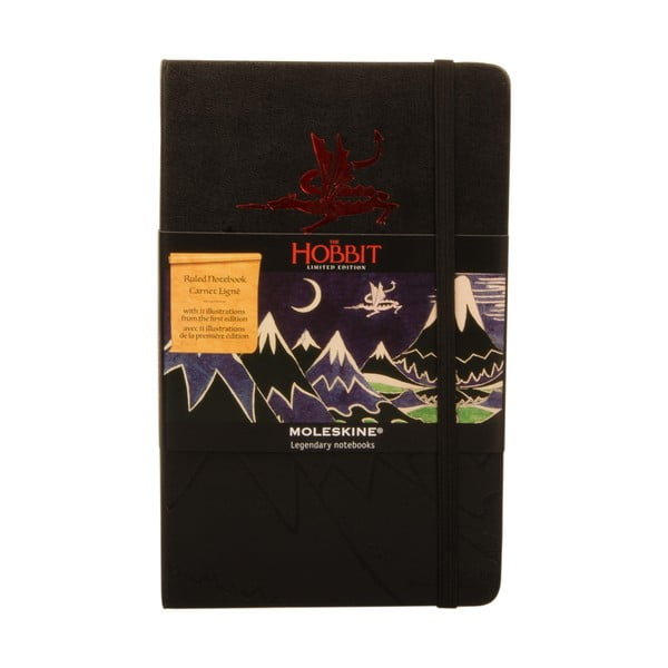 Notatnik Moleskine Hobbit, 13x21 cm
