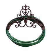 Ścienny uchwyt żeliwny na wąż ogrodowy Esschert Design Pattern
