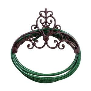 Ścienny uchwyt żeliwny na węża ogrodowego Esschert Design Pattern