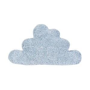 Niebieska poduszka bawełniana Happy Decor Kids Cloud, 45x45cm