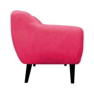 Różowy fotel Mazzini Sofas Toscane