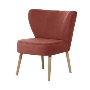 Brzoskwiniowy fotel My Pop Design Hamilton