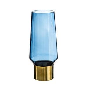 Niebieski flakon Denzzo Saulo, wys. 25,5 cm