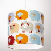 Lampa sufitowa Marketa Blue & Orange