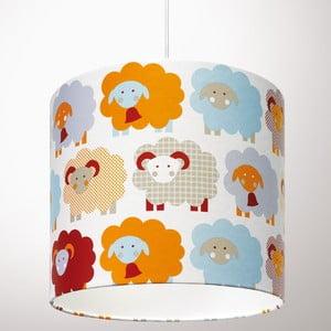 Lampa sufitowa Marketa Blue & Orange