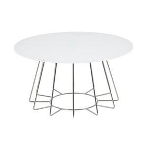 Biały stolik Actona Casia, wys. 40 cm