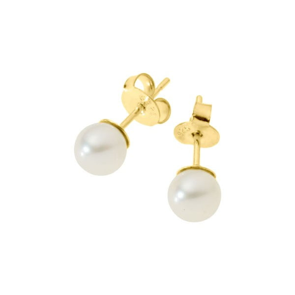 Kolczyki White Pearls