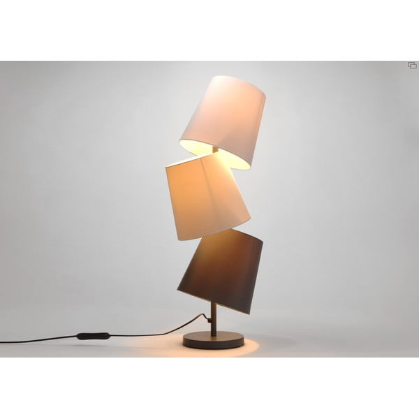 Lampa stołowa Three Lampshades Neutral