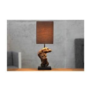 Szaro-brązowa lampa stołowa SOB Kaya