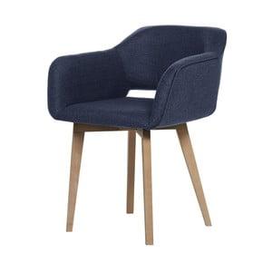 Ciemnoniebieskie krzesło My Pop Design Oldenburg