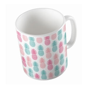 Ceramiczny kubek Pastel Pineapples, 330 ml