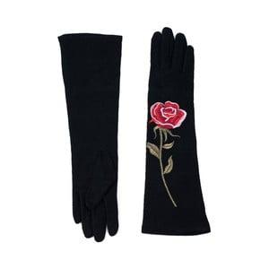 Czarne rękawiczki Rosemary Lungo