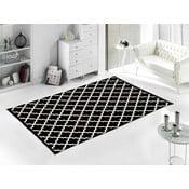 Czarny dywan Madalyon, 80x150 cm