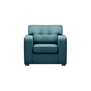 Niebieski fotel Corinne Cobson Melvin
